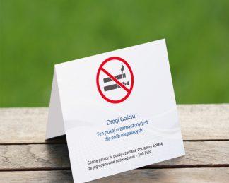 Zakaz palenia - informatory - gotowe druki