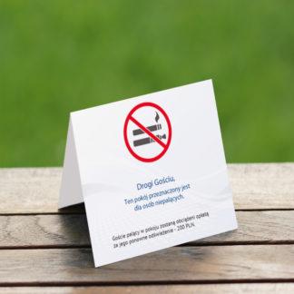 Zakaz palenia - informatory