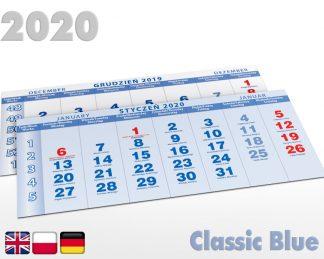 Kalendaria czterodzielne 2020