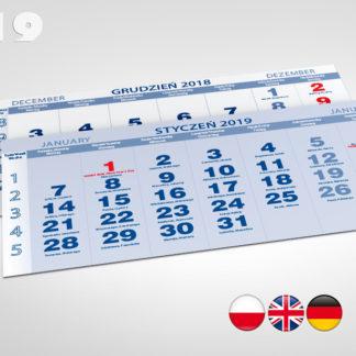 Kalendaria trójdzielne 2019