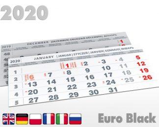 Kalendaria sześciodzielne 2020