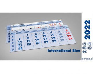 Kalendaria czterodzielne 2022