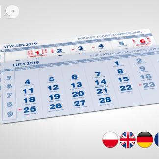 Kalendaria pięciodzielne 2019