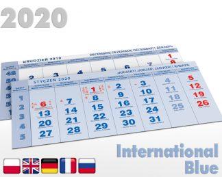 Kalendaria pięciodzielne 2020