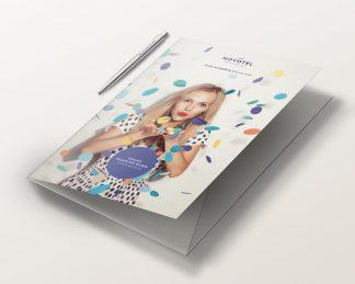 Teczki hotelowe - druk z projektu