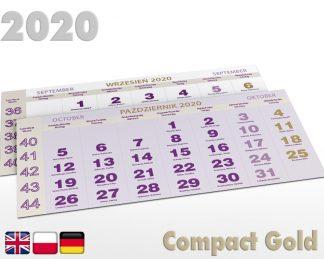 Kalendaria trójdzielne 2020