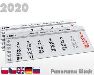 Kalendaria panoramiczne 2020