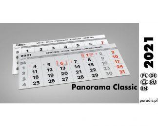 Kalendaria panoramiczne 2021